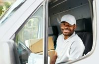 become a delivery truck driver